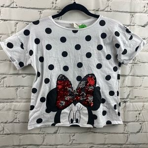 Disney Minnie Mouse sequened t-shirt